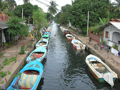 The Dutch Canal in Negombo